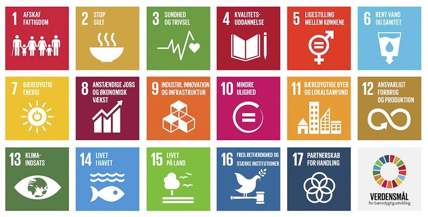 FN's verdensmål, SDG'erne