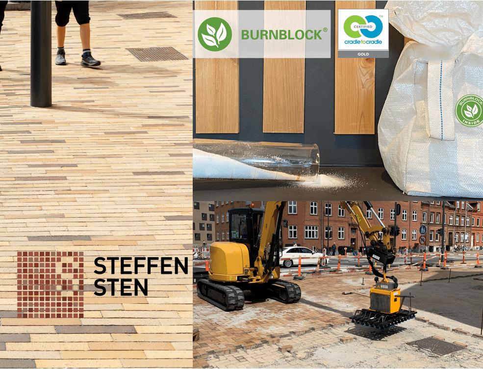 To virksomheder fra byggebranchen, Steffen Sten og BURNBLOCK, vælger Cradle to Cradle certificering