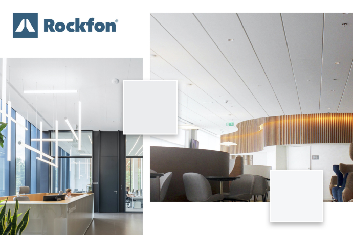 Rockfon scorer sølv og guld for mere end 90 pct af deres akustiske produkter